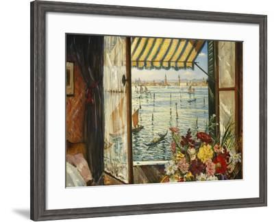 From a Venetian Window, 1934-Christopher Richard Wynne Nevinson-Framed Giclee Print