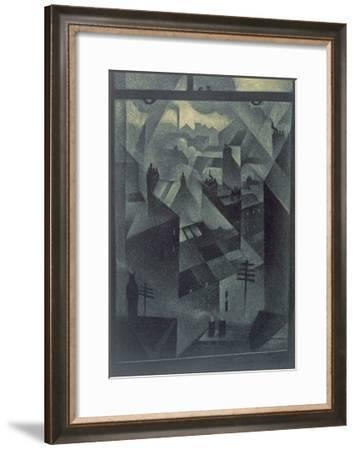 From an Office Window, 1918-Christopher Richard Wynne Nevinson-Framed Giclee Print