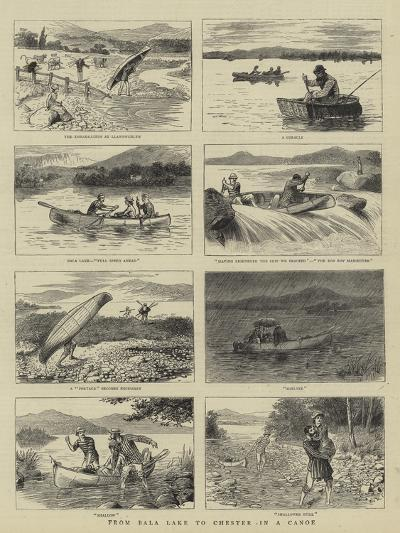 From Bala Lake to Chester in a Canoe--Giclee Print