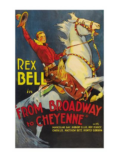 From Broadway to Cheyenne--Art Print