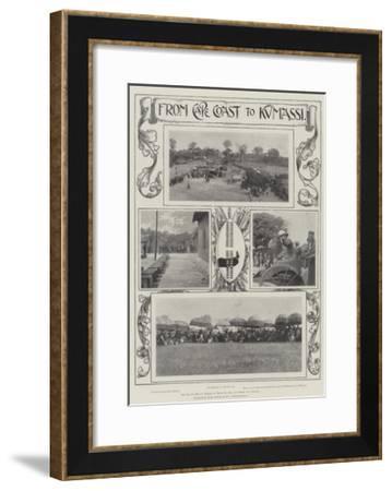 From Cape Coast to Kumassi--Framed Giclee Print
