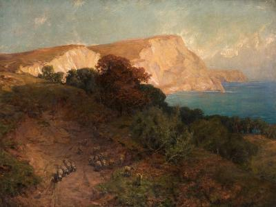 From English Seas - White Nose Cliff, the Highest in Dorset, C.1910-Joseph Langsdale Pickering-Giclee Print