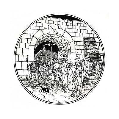 From Geschichte Der Rheinischen Stadtekultur, C1897-Joseph Kaspar Sattler-Giclee Print