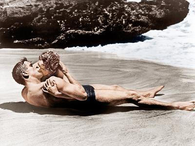 From Here to Eternity, Burt Lancaster, Deborah Kerr, 1953--Photo