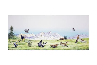 From Left to Right--Giclee Print