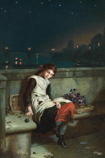 From Morn Til Night, 1889-Augustus Edward Mulready-Giclee Print