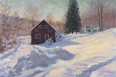 From My Studio in Winter-Christopher Pierce-Giclee Print