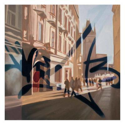 From Old Town II-James Nye-Art Print
