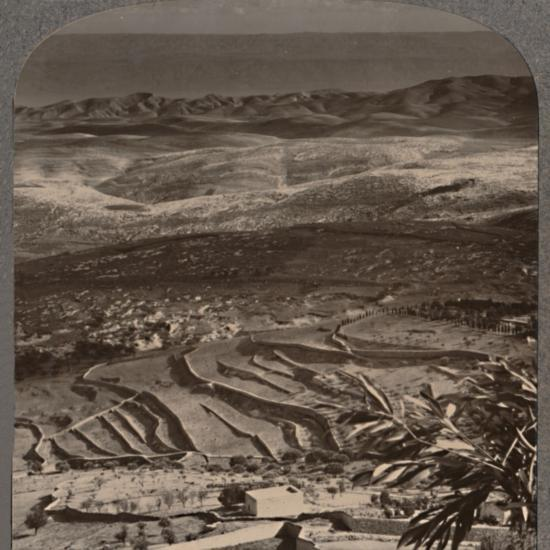 'From Olivet to the Dead Sea, across 40 miles of waste', c1900-Unknown-Photographic Print