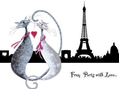 From Paris with Love-Marilyn Robertson-Art Print