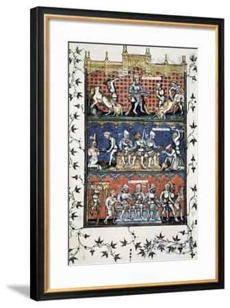 From 'Politics' of Aristotle-Nicholas Oresme-Framed Art Print