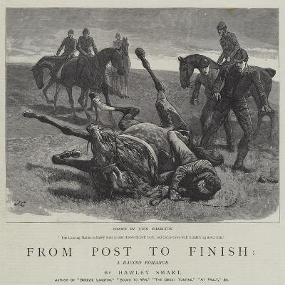 From Post to Finish, a Racing Romance-John Charlton-Giclee Print