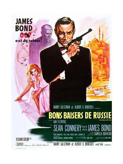 From Russia with Love (aka Bons Baisers De Russie)--Art Print