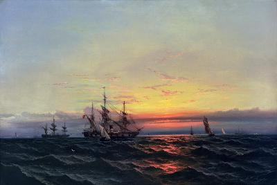 From Sail to Steam-James Hamilton-Giclee Print