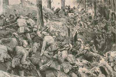From the Battle in the Vosges--Giclee Print