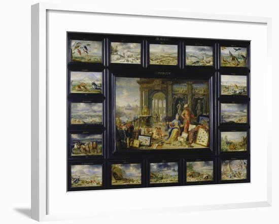 From the Cycle of the Four Continents: Asia-Jan van Kessel-Framed Giclee Print