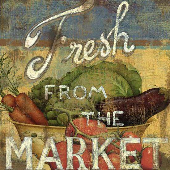 From the Market IV-Daphne Brissonnet-Art Print