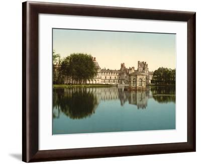 From the park, Fontainebleau Palace, France, c.1890-c.1900--Framed Photographic Print