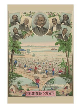 From the Plantation to the Senate--Art Print