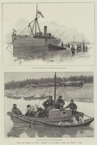 From the Thames to Siberia-Amedee Forestier-Giclee Print