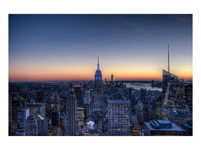 From the Top of the Rock NYC--Art Print