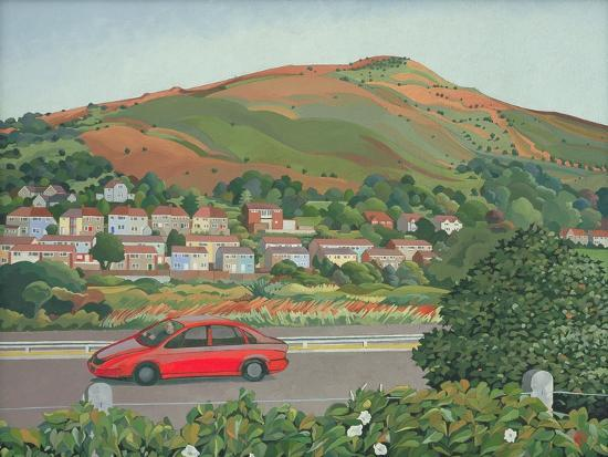 From the Train, South Wales-Anna Teasdale-Giclee Print