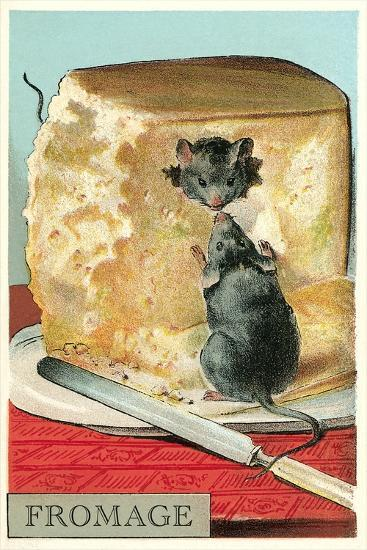 Fromage, Mice in Cheese--Art Print