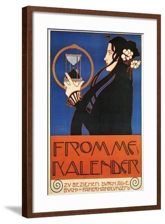 Fromme's Calendar-Koloman Moser-Framed Art Print