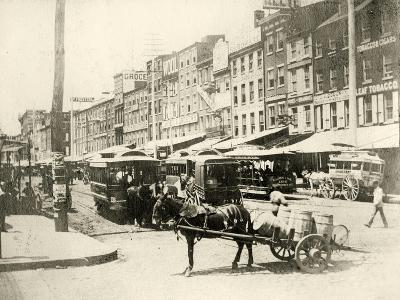 Front and Market Streets, 1881--Giclee Print