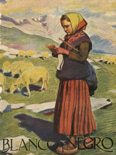 Front Cover of 'Blanco Y Negro', 1922--Giclee Print