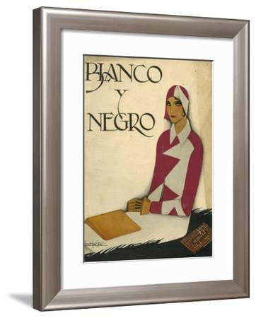 Front Cover of 'Blanco Y Negro', 1930--Framed Giclee Print