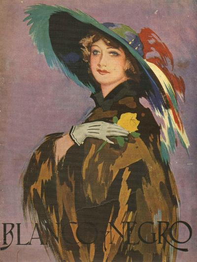Front Cover of 'Blanco Y Negro', 1932--Giclee Print