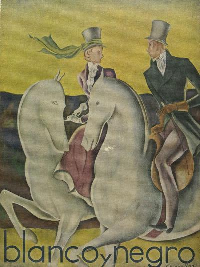 Front Cover of 'Blanco Y Negro', C.1920S--Giclee Print