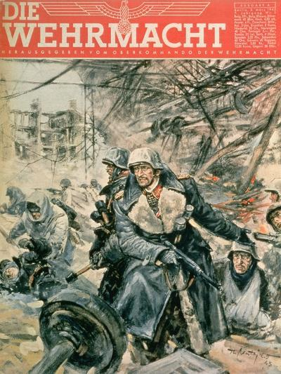 Front Cover of 'Die Wehrmacht', March 1943--Giclee Print