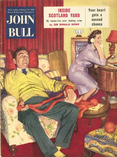 Front Cover of 'John Bull', 1958--Giclee Print