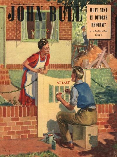 Front Cover of 'John Bull', April 1948--Giclee Print