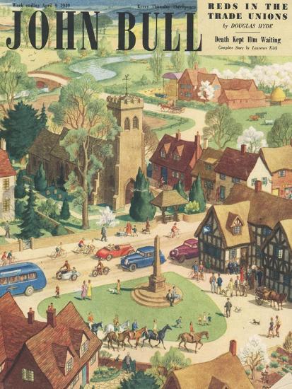 Front Cover of 'John Bull', April 1949--Giclee Print