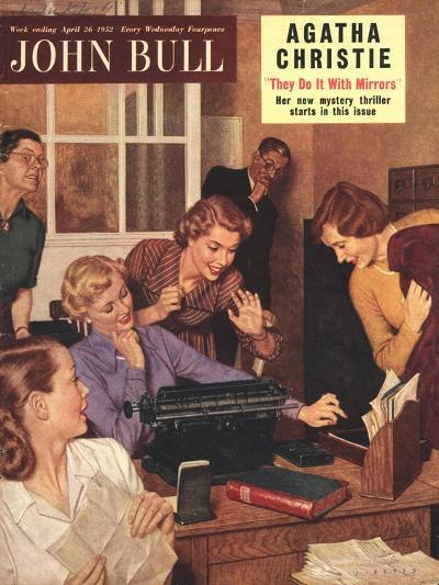 Front Cover of 'John Bull', April 1952--Giclee Print