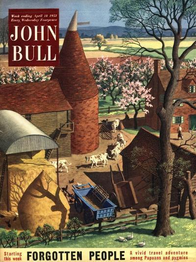 Front Cover of 'John Bull', April 1953--Giclee Print