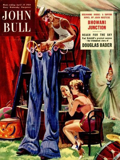 Front Cover of 'John Bull', April 1954--Giclee Print