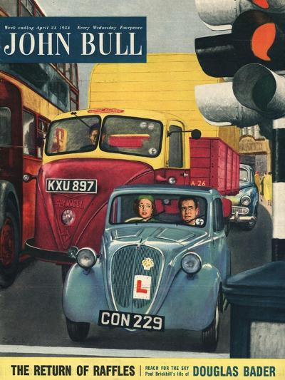 Front Cover of 'John Bull', April 1954--Giclee Print