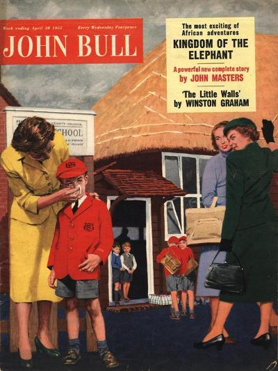 Front Cover of 'John Bull', April 1955--Giclee Print