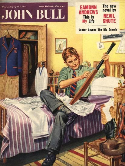 Front Cover of 'John Bull', April 1956--Giclee Print