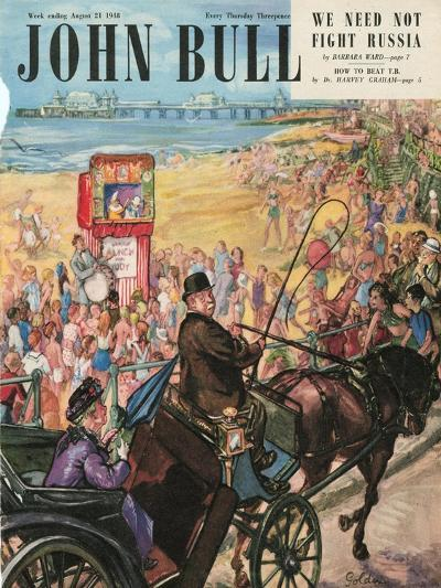 Front Cover of 'John Bull', August 1948--Giclee Print