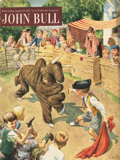 Front Cover of 'John Bull', August 1953--Giclee Print