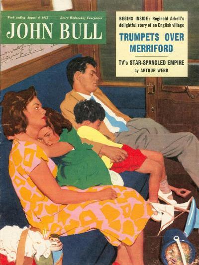 Front Cover of 'John Bull', August 1955--Giclee Print