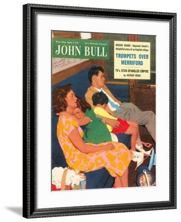 Front Cover of 'John Bull', August 1955--Framed Giclee Print