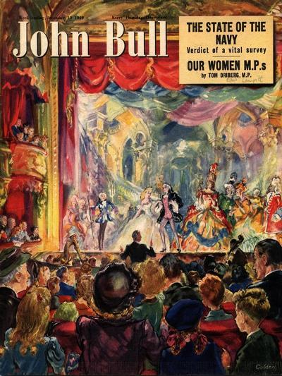Front Cover of 'John Bull', December 1949--Giclee Print