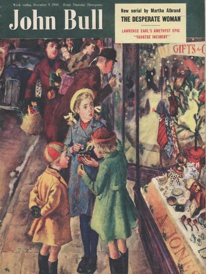 Front Cover of 'John Bull', December 1950--Giclee Print