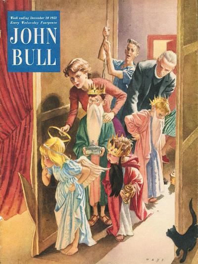 Front Cover of 'John Bull', December 1952--Giclee Print